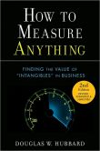 Book Cover Image. Title: How to Measure Anything:  Finding the Value of Intangibles in Business, Author: Douglas W. Hubbard