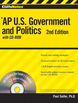 CliffsNotes AP U.S. Government and Politics with CD-ROM, 2nd Edition