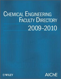 Chemical Engineering Faculty Directory: 2009-2010