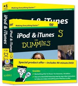 iPod and iTunes For Dummies, Book + DVD Bundle