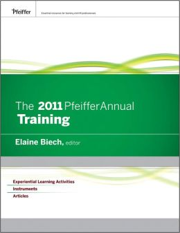The 2011 Pfeiffer Annual: Training