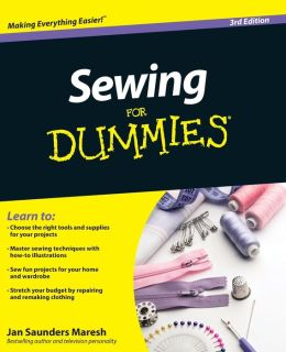 Sewing For Dummies