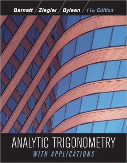 Analytic Trigonometry with Applications / Edition 11 by Raymond A