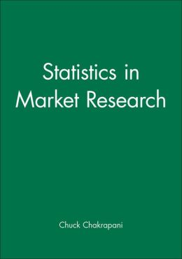 Statistics in Market Research