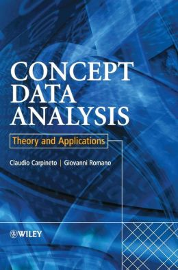 Concept Data Analysis: Theory and Applications