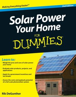 Solar power your home for dummies free ebook download
