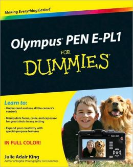 Olympus PEN E-PL1 For Dummies