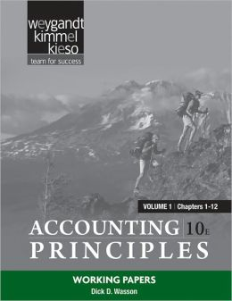 Accounting Principles, Working Papers Vol. 1