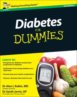 Diabetes for Dummies : Uk Edition