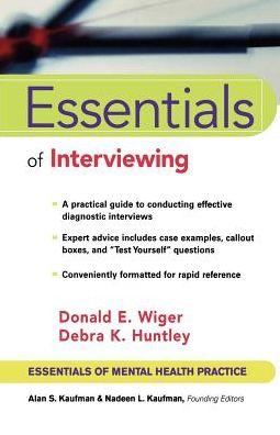Essentials of Interviewing