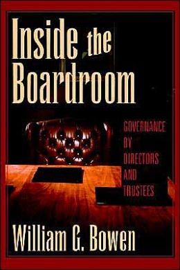 Inside the Boardroom: Governance by Directors and Trustees