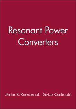 Resonant Power Converters, Solutions Manual