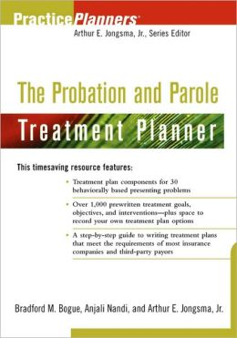 The Probation and Parole Treatment Planner