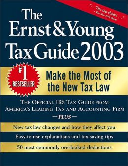 The Ernst & Young Tax Guide 2003