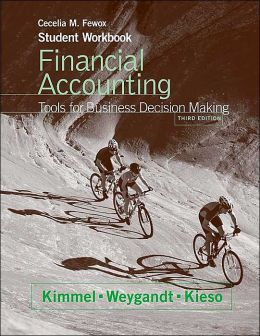 Financial Accounting, Student Workbook: Tools for Business Decision Making