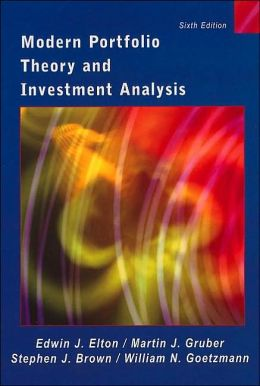 Modern Portfolio: Theory and Investment Analysis