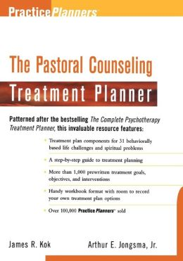 The Pastoral Counseling Treatment Planner