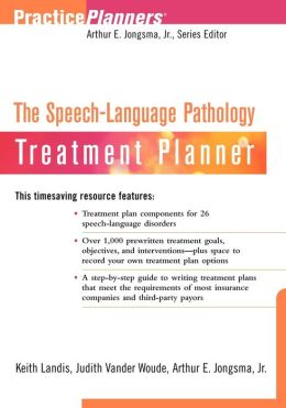 The Speech-Language Pathology Treatment Planner