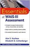 Essentials of WAIS(R) -III Assessment