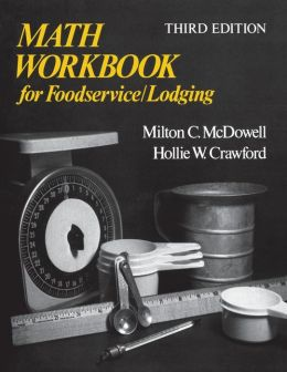 Math Workbook for Foodservice/Lodging