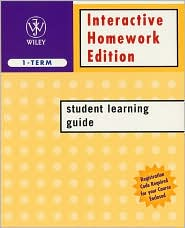 Interactive Homework Edition Student Learning Guide