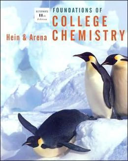 Foundations of College Chemistry: Alternate 11th Edition