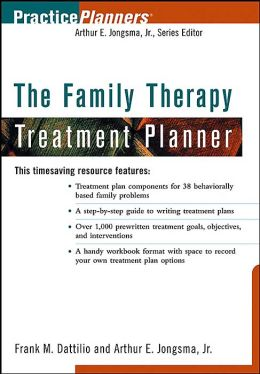 The Family Therapy Treatment Planner: Practice Planner Series