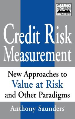 Credit Risk Measurement: New Approaches to Value-at-Risk and Other Paradigms
