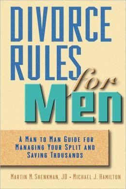 Divorce Rules For Men