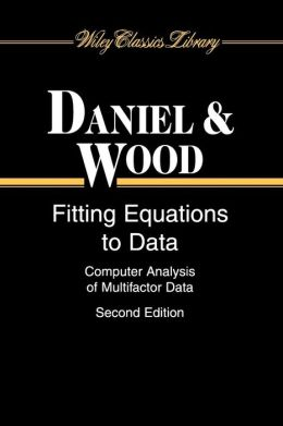 Fitting Equations to Data: Computer Analysis of Multifactor Data