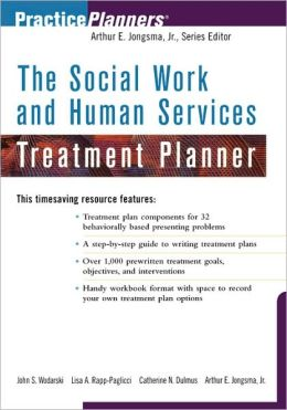 The Social Work and Human Services Treatment Planner