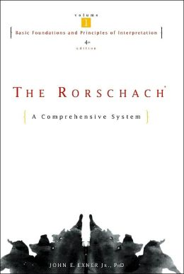 The Rorschach, Basic Foundations and Principles of Interpretation