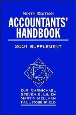 Accountants' Handbook, 2 Volume Set, 2001 Supplement