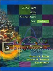 Research and Evaluation for Business [With CDROM]