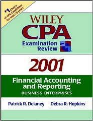 Wiley CPA Exam Review 2001: Financial Accounting and Reporting