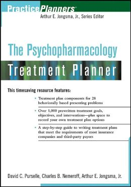 The Psychopharmacology Treatment Planner (Practice Planners Series)