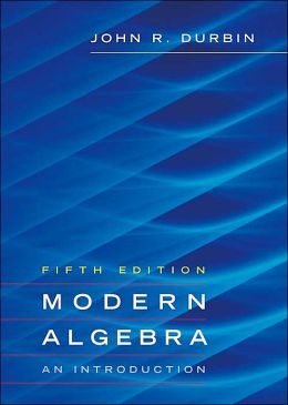Modern Algebra: An Introduction