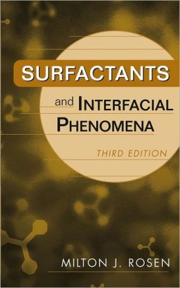 Surfactants and Interfacial Phenomena