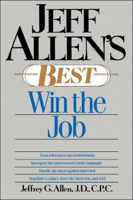 Jeff Allen's Best: Win the Job