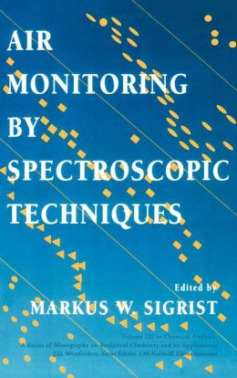 Air Monitoring by Spectroscopic Techniques