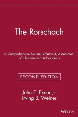 The Rorschach, Assessment of Children and Adolescents
