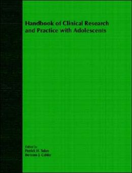 Handbook of Clinical Research and Practice with Adolescents