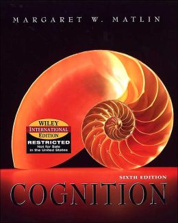 Cognition (International Edition)