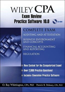 Wiley CPA Examination Review Practice Software 10. 0
