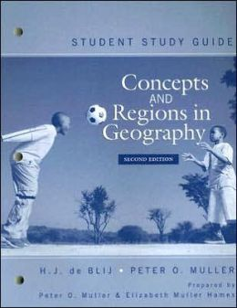 Concepts and Regions in Geography, Student Study Guide