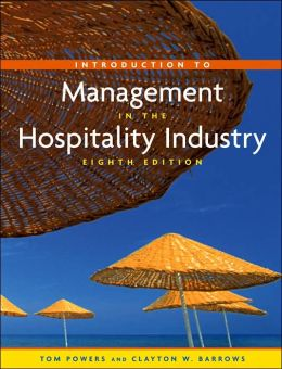 Introduction to Management in the Hospitality Industry and Nraef Student Workbook Package