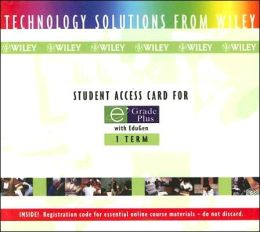 Student Access Card for E Grade Plus with EduGen: 1 Term