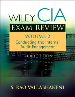 Wiley CIA Exam Review, Controlling the Internal Audit Engagement