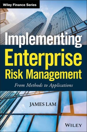 Enterprise Risk Management: From Methods to Applications