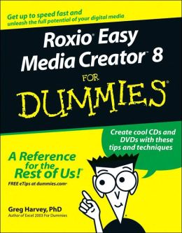 RoxioEasy Media Creator 8 For Dummies